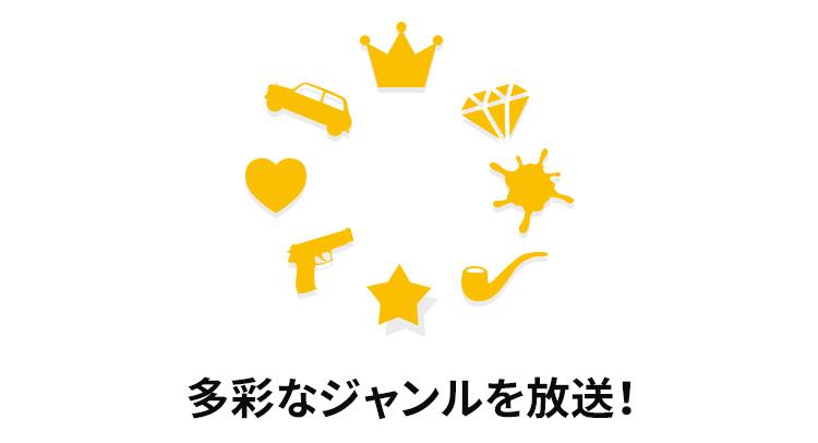 海外ドラマ専門チャンネル スーパー!ドラマTV : 視聴方法